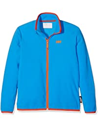 Helly Hansen Jr Daybreaker Fleece - Chaqueta para niños, color azul, talla 10