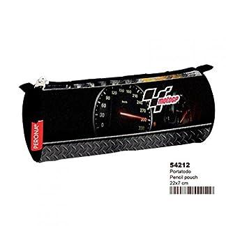 Moto GP- Estuche portatodo Tubo,, 22 cm (Montichelvo 54212)