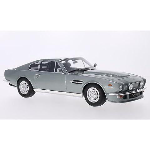 Aston Martin V8 Vantage, metallizzato-grigio, RHD, modello di automobile, modello prefabbricato, GT spirito 1:18 Modello esclusivamente Da