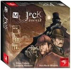 Mr Jack Pocket Size Game