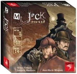 Asmodee-Halloween Mr Jack Pocket-Español
