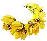 Majik South Indian Bridal Hair Gajra For Bun Juda Decoration, Yellow, 10 Gram, Pack Of 1 Amazon