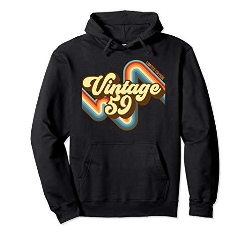 60. Geburtstag Vintage 59 limitierte Auflage geboren 1949 Pullover Hoodie
