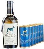 Windspiel Genusspaket Premium Dry Gin (1 x 0.5 l) + Windspiel Tonic Water (6 x 0.2 l)