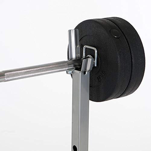Verstellbare Hantelbank inklusive Gewichten (25 kg) im Test - 5