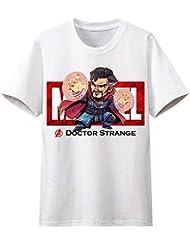 Kacular Clothing T-Shirt Avengers Endgame Iron Man Thor Vedova Nera Hulk Captain America Thanos Marvel Comics Supereroi Kids Adulti Tee Top 4-S