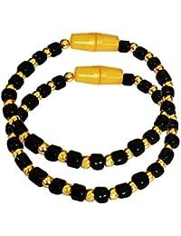 ANMOL Gold plated Kada Bangles,Bracelet (Mangati) for New born Babys (0-3 Years)