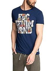 edc by ESPRIT Herren T-Shirt 056cc2k011 - mit Coolem Druck
