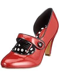It Boots Amazon Joe Leather Browns Pelle Neri Up shoes Mix uFc3TKJ1l