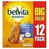 Belvita Breakfast Milk And Cereal Biscuits X 12 Pack 600G