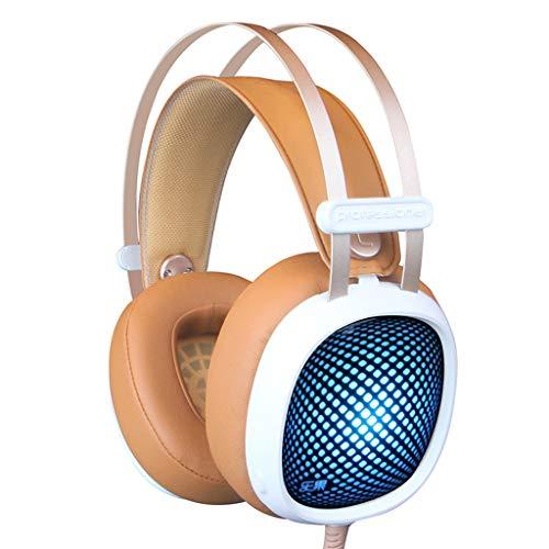 Gaming Headset 3,5 mm Stereo Wired In-Ear-Kopfhörer mit Mikrofon, Rauschunterdrückung und Lautstärkeregler für die neue Xbox One/PC / Mac / PS4 Sound Isolating-in-ear-stereo