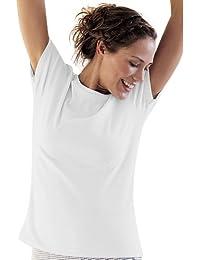 The Irish Linen Store Classic Cotton T-Shirt Blanc