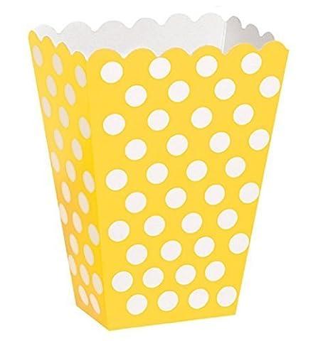 Neue gelb gepunktet, Full Party Geschirr-Kollektion, viele Partyartikel orders zur