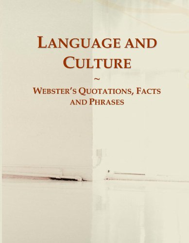 Language and Culture: Webster's Quotations, Facts and Phrases