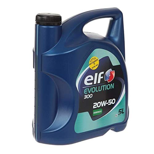 ELF Huile moteur Evolution 300 Essence 20W50 - 5L