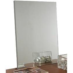 Specchio senza cornice colore grigio