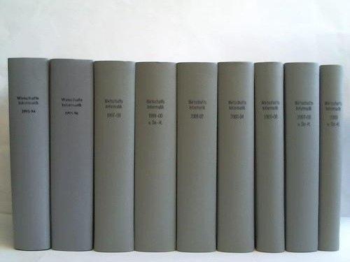 elektronische datenverarbeitung / Angewandte Informatik. 35. bis 51. Jahrgang 1993 bis 2009. 17 Jahrgänge in 9 Bänden