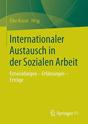 Internationaler Austausch in der Sozialen Arbeit Internationaler Austausch