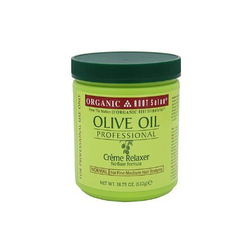 Professional Creme Relaxer (Organic Root Stimulator Olive Oil Professional Creme Relaxer normal strength)