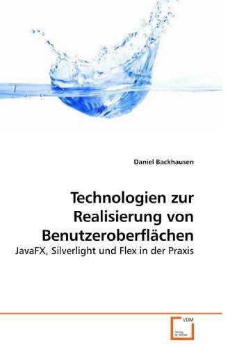 Technologien Zur Realisierung Von Benutzeroberflachen
