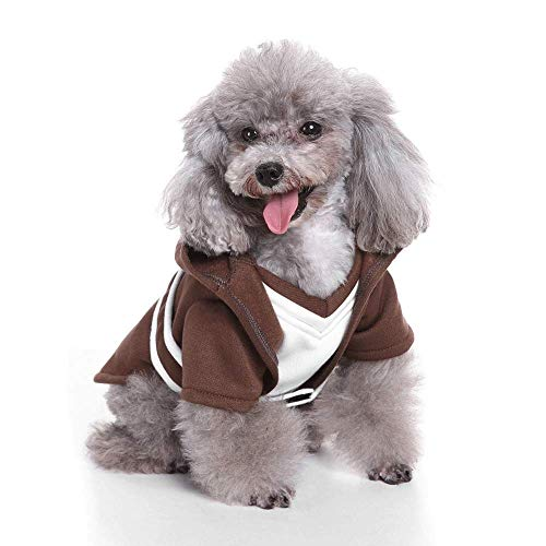 Hunde Superdog Kostüm - TIKEN Hund Kostüm Katze Welpe Halloween Kostüm Kleidung Haustier Bekleidung Superdog Dress Up,XL