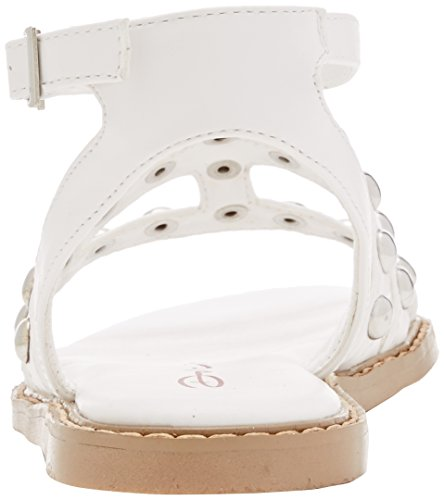 Dolcis Jemima, Sandales Bride cheville femme Blanc (Blanc)