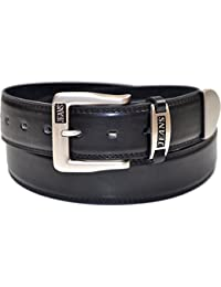 Mens 38mm Real Leather Lined Jeans Belt by 'Ossi'