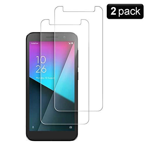 PaceBid [2 Pack] Vetro Temperato Vodafone Smart E9, [Anti-Graffi] [9H Durezza] [Anti-impronta] Pellicola Protettiva per Vodafone Smart E9
