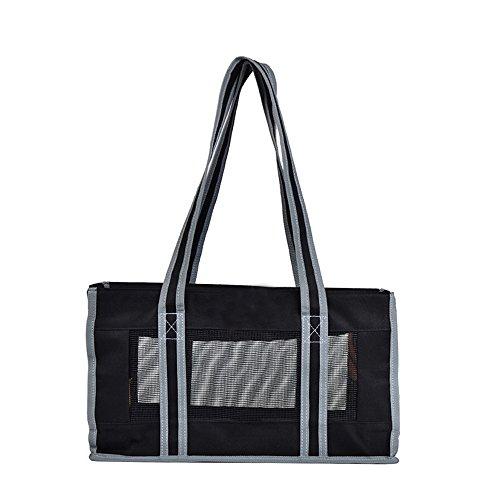 AYCC Eine Schulter Hundetasche, Hund Reisetasche, Tragbare Handtasche, Faltbare Tasche Atmungsaktive Leinwand, Lässig