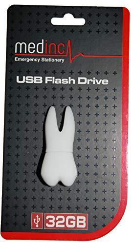 Memoria USB para dientes 32GB Dentista, estudiantes de odontología o enfermera dental