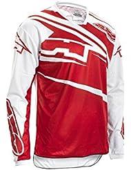 Axo Jersey Sr Jr, blanco/rojo, M