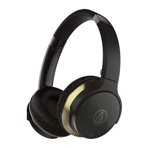 Audio-Technica ATH-AR3BTBK On-Ear Bluetooth Headphones - Black