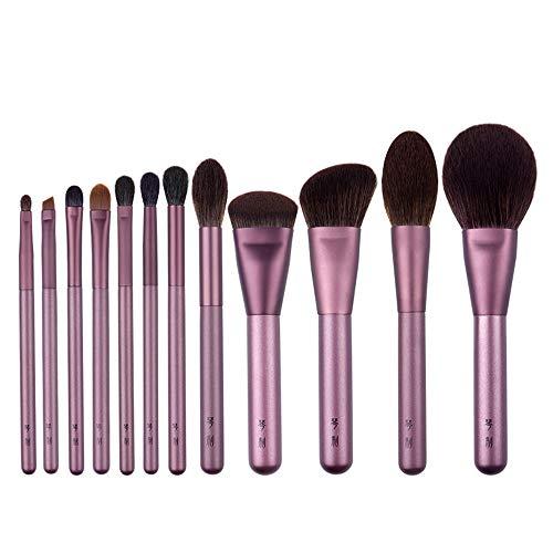 ZYFF huazhuangshua Pinceau de Maquillage, Outil de Maquillage pour Maquillage avec Base de réparation pour Blush en Poudre en Vrac, Ombre Brillante pour Le Nez, Pinceau à Sourcils, pour Femme,