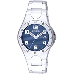 Breil Iceberg Women's Quartz Watch with Blue Dial Analogue Display and Silver Bracelet TW0824