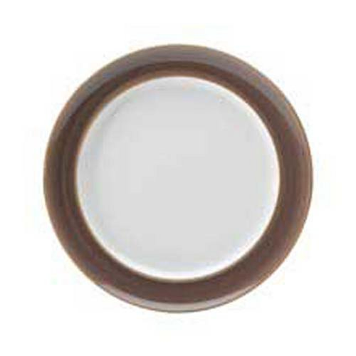 Denby Truffle Wide Rimmed Dinner Plate by Denby -