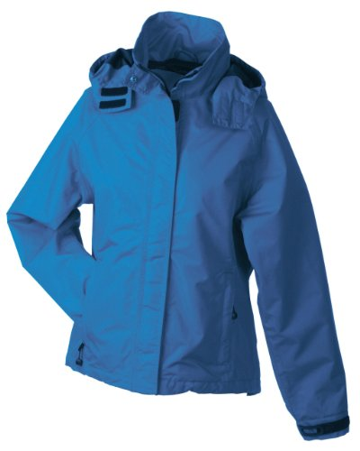 Damen Outdoorjacke Wind- und Wasserdicht Azur