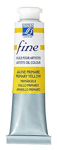 Tubo 40ml colore colori fine oil huile olio lefranc belle arti artisti vernice pittura (153 - giallo primario)