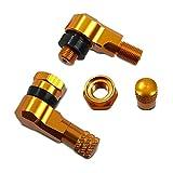 Winkelventil 8,3 mm gold für Aprilia Dorsoduro 1200/ 750/ 900, RS 50/ 125/ 250, RS4 50/ 125, RSV 1000 R/ Mille, RSV4/ Factory
