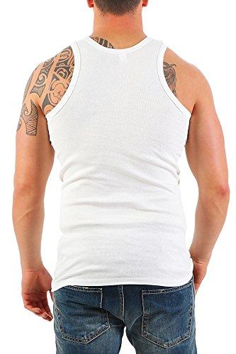 5er Pack Herren Unterhemd (Achselhemd / Muskelshirt) Feinripp Nr. 282C auch in Übergröße - 2