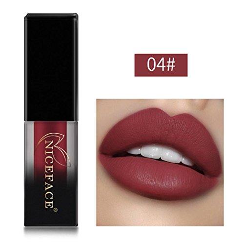 Btruely Lipliner Neue 18 Farben Wasserdicht Langlebige Flüssige Matte Lippenstift Make-Up Lipgloss...