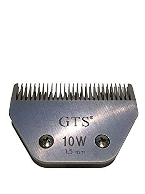10W Horse Clipper Blades 1.5mm compatible with Wahl, Andis, Aesculap, Moser, Oster, Liveryman A5 blades by GTS