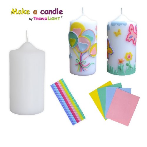 Make a Candle Collection -Pastell- Mega Bastelset