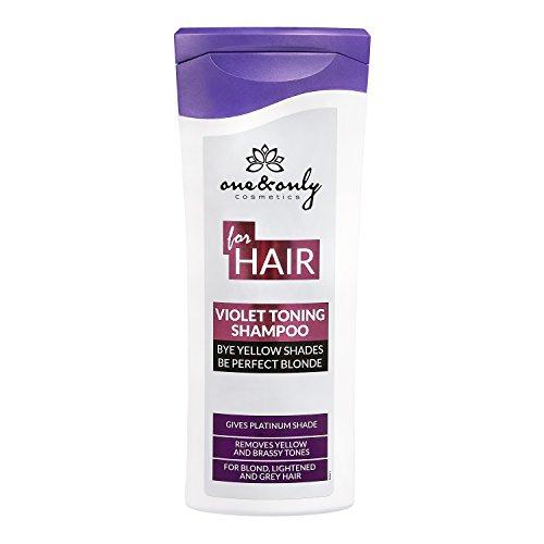ONE&ONLY for Hair Violet Toning shampoo 200ml; shampoo per cura dei capelli biondi, schiariti, rossi ramati, grigi, sottolinea il colore biondo