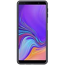 "Samsung Galaxy A7 (2018) Smartphone, Nero (Black), Display 6.0"" 64 GB Espandibili, Dual Sim [Versione Italiana]"