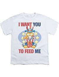 Garfield - - Le quiero Juventud Camiseta En Blanco