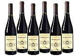 WEINVORTEIL - 6 Fl. Manieri Barbera d'Asti - Piemonte DOCG Rotwein aus Italien trocken