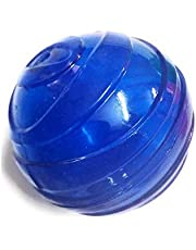 PSK PET MART Rubber Squeaky Dog Ball, Interactive Dog Toy for Small and Medium Dogs, Multicolor