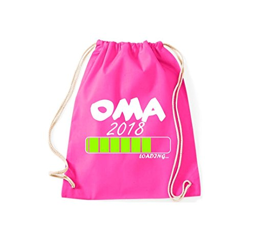Turnbeutel; Oma 2018 ... loading, viele Farben Pink
