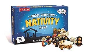 Lagoon Group- Plasticine Model Your Own Nativity Scene Plastiline, Juguete, Color Mixto (6768)