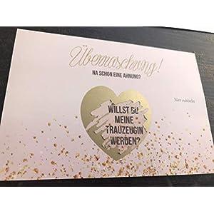 Rubbelkarte Trauzeugin -> Hochzeit -> Brautjunger -> Geschenk für Trauzeugin -> Willst du meine Trauzeugin werden? (Trauzeugin)